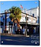 Key West Bar Sloppy Joes Acrylic Print by Susanne Van Hulst