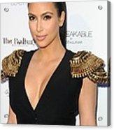 Kim Kardashian Wearing An Alexander Acrylic Print by Everett