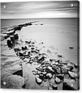 Kimmeridge Bay Acrylic Print by Nina Papiorek