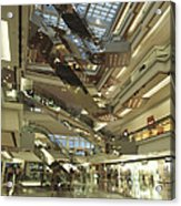 Kowloon Tong Festival Walk, The Newest Acrylic Print by Justin Guariglia
