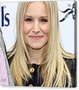 Kristen Bell At A Public Appearance Acrylic Print by Everett