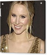 Kristen Bell At Arrivals For 12th Acrylic Print by Everett