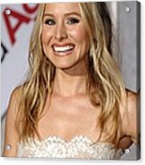 Kristen Bell At Arrivals For You Again Acrylic Print by Everett