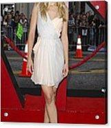 Kristen Bell Wearing A Dress By J Acrylic Print by Everett