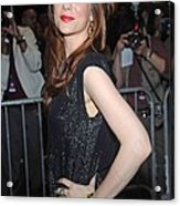 Kristen Wiig At Arrivals For The Annual Acrylic Print by Everett