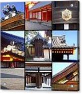 Kyoto Imperial Palace Acrylic Print by Roberto Alamino