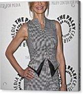 Kyra Sedgwick Wearing An Antonio Acrylic Print by Everett