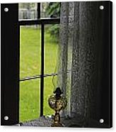Lace Curtains Acrylic Print by Scott Hovind