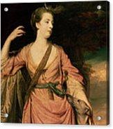 Lady Dawson Acrylic Print by Sir Joshua Reynolds