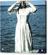 Lady In Water Acrylic Print by Joana Kruse