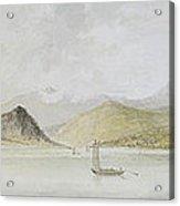 Lago Maggiore Acrylic Print by Charles Gore