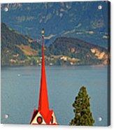 Lake Lucerne Acrylic Print by Brian Jannsen