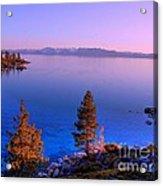 Lake Tahoe Serenity Acrylic Print by Scott McGuire