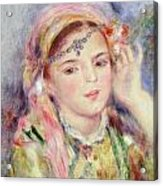 L'algerienne Acrylic Print by Pierre Auguste Renoir