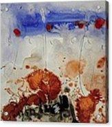 Land On Paper. Acrylic Print by Jorgen Rosengaard