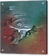 Landing Hole 1981 Acrylic Print by Glenn Bautista