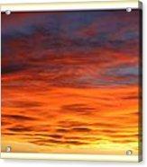 Las Cruces Sunset Acrylic Print by Jack Pumphrey