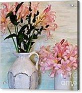 Last Of My Lilies Acrylic Print by Marsha Heiken