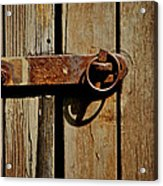 Latch Acrylic Print by Odd Jeppesen