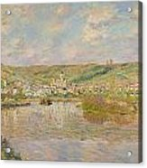 Late Afternoon - Vetheuil Acrylic Print by Claude Monet