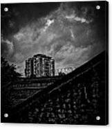 Late Night Brixton Skyline Acrylic Print by Lenny Carter