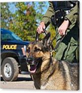 Law Enforcement. Acrylic Print by Kelly Nelson