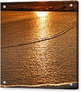 Leading Edge Acrylic Print by Steven Ainsworth