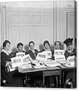 League Of Women Voters Acrylic Print by Granger