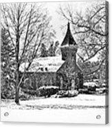 Lee Chapel February 2012 Series II Acrylic Print by Kathy Jennings