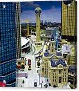 Legoland Dallas Iv Acrylic Print by Ricky Barnard