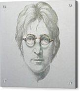 Lennon  Acrylic Print by Trevor Neal