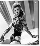 Lets Be Happy, Vera-ellen, 1957 Acrylic Print by Everett