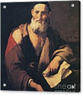 Leucippus, Ancient Greek Philosopher Acrylic Print by Science Source