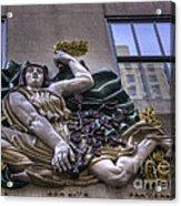 Libertie Egalite Fraternite Acrylic Print by David Bearden