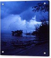Lifting Storm Acrylic Print by Bob Whitt