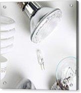 Light Bulbs Acrylic Print by Photo Researchers, Inc.