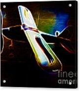 Lil Plane Acrylic Print by Cheryl Young