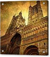 Lincoln Cathedral Acrylic Print by Yhun Suarez