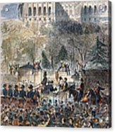 Lincoln Inauguration Acrylic Print by Granger
