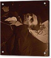 Lincoln Shot Acrylic Print by Ray Downing