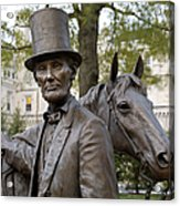 Lincoln Statue, 2008 Acrylic Print by Granger