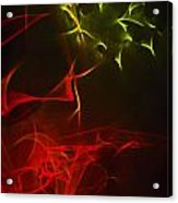 Liquid Saphire 12 Acrylic Print by Cyryn Fyrcyd