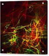 Liquid Saphire 29 Acrylic Print by Cyryn Fyrcyd