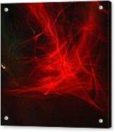 Liquid Saphire 34 Acrylic Print by Cyryn Fyrcyd