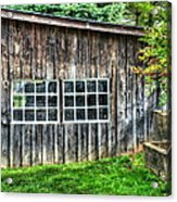 Little Brown Shed Acrylic Print by Debbi Granruth