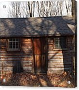 Little Cabin In The Woods Acrylic Print by Robert Margetts