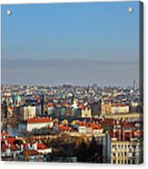 Little Mother Prague Acrylic Print by Christine Till