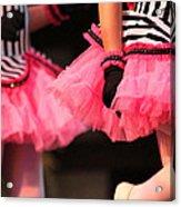 Little Pink Tutus Acrylic Print by Lauri Novak