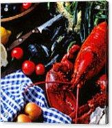 Lobster Acrylic Print by Garry Gay