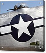 Lockheed Pv-2 Harpoon Military Aircraft . 7d15818 Acrylic Print by Wingsdomain Art and Photography